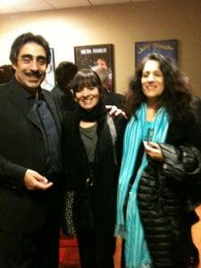 Alia Thabit with Simon Shaheen and Elena Lentini