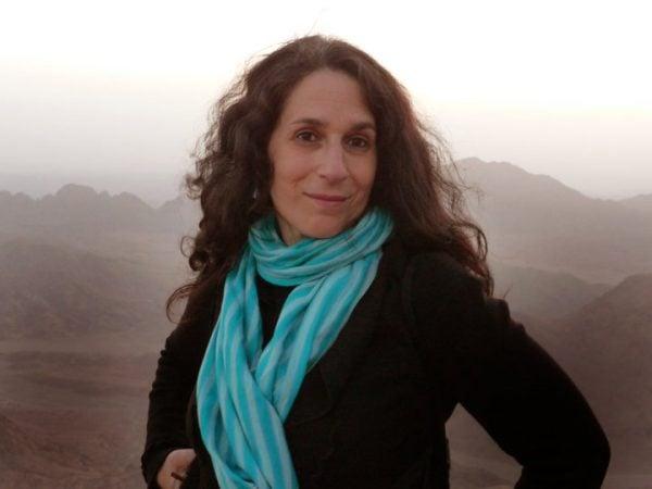 Alia atop Mt. Sinai, Egypt Photo: Yasmin Henkesh