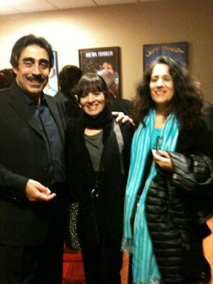 Alia Thabit with Simon Shaheen and Elena Lentini