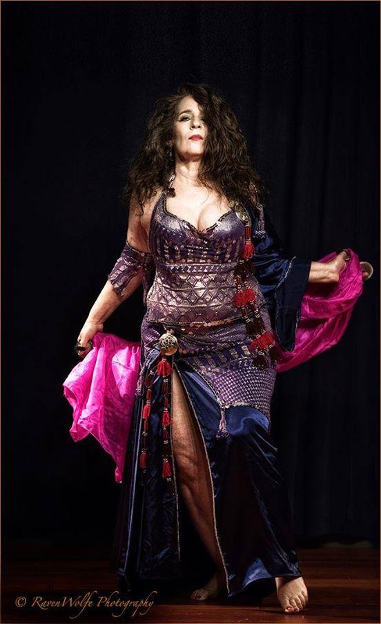 Alia as Nyx, Greek goddess of the night